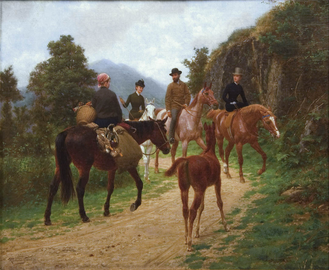 The Meeting on Horseback