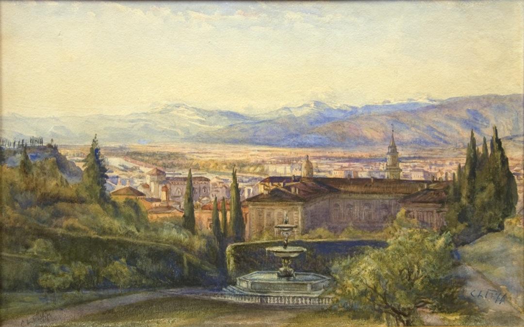 The Boboli Gardens, Florence