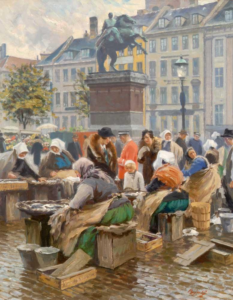 Gammelstrand Fish Market