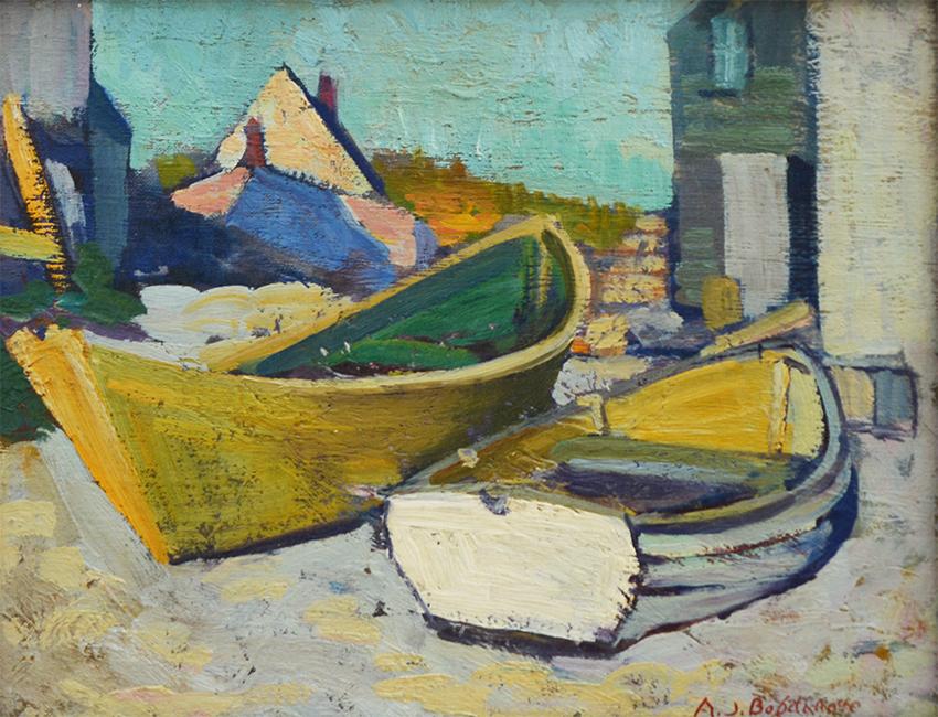 Boats-Monhegan Island