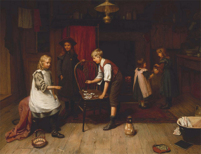 Pretending: Lunch from the Cafe, 1910