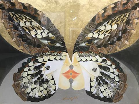 Butterfly Reflection: Queen Alexandria's Birdwing