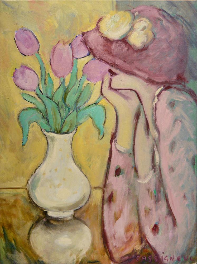 Les tulipes mauves, 1975