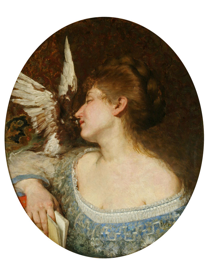 Lady with a Dove