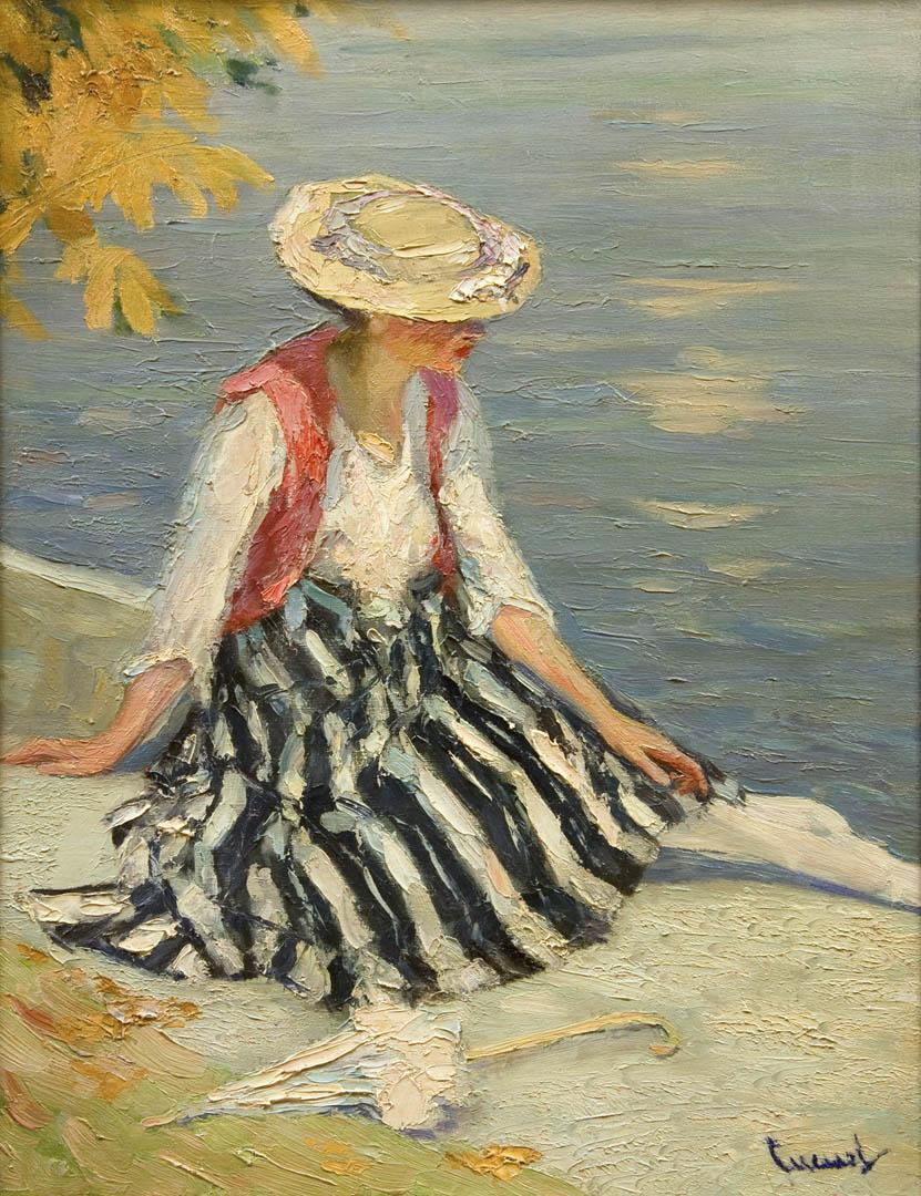 Sommer Stille (Summer Quiet), 1910