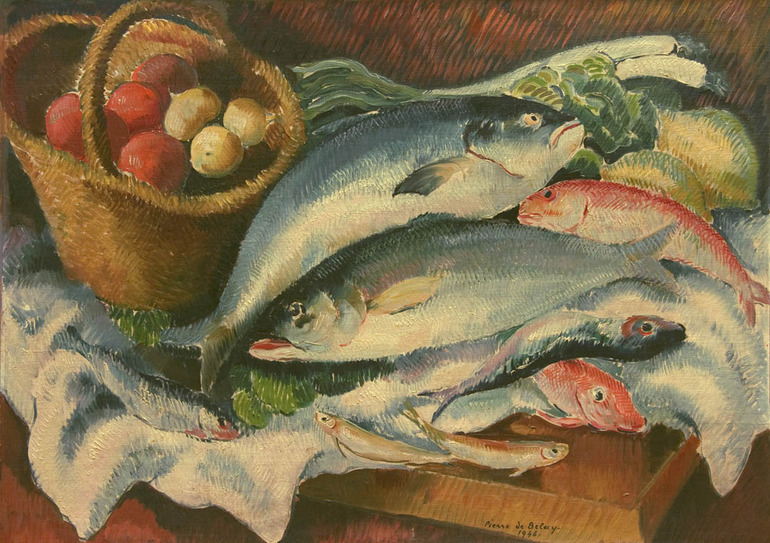 Nature morte aux poissons (Still-life with Fish)