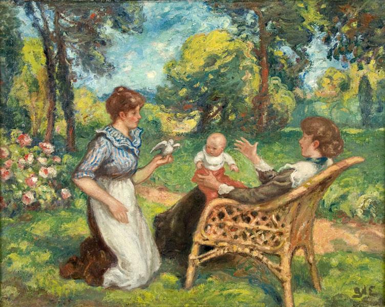 Au Jardin (In the Garden), ca. 1905