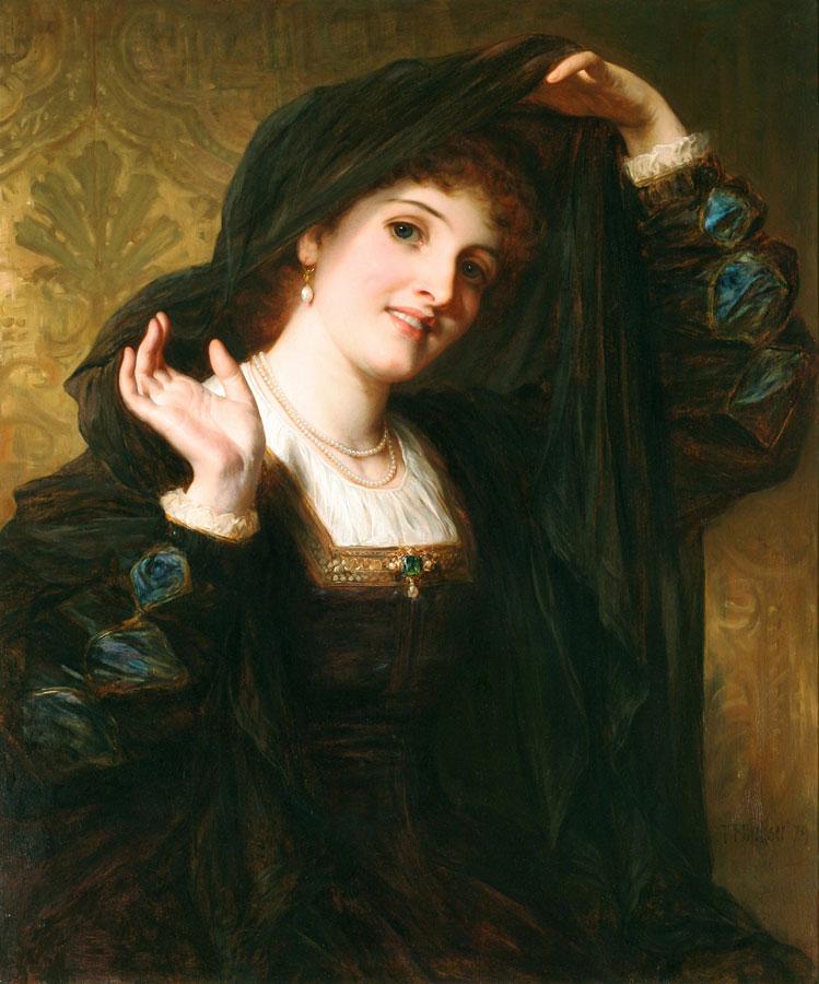 Olivia Unveiling to Viola, 1879