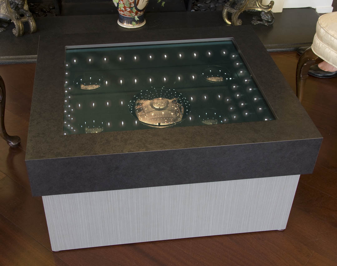 Wishing Well Square Table