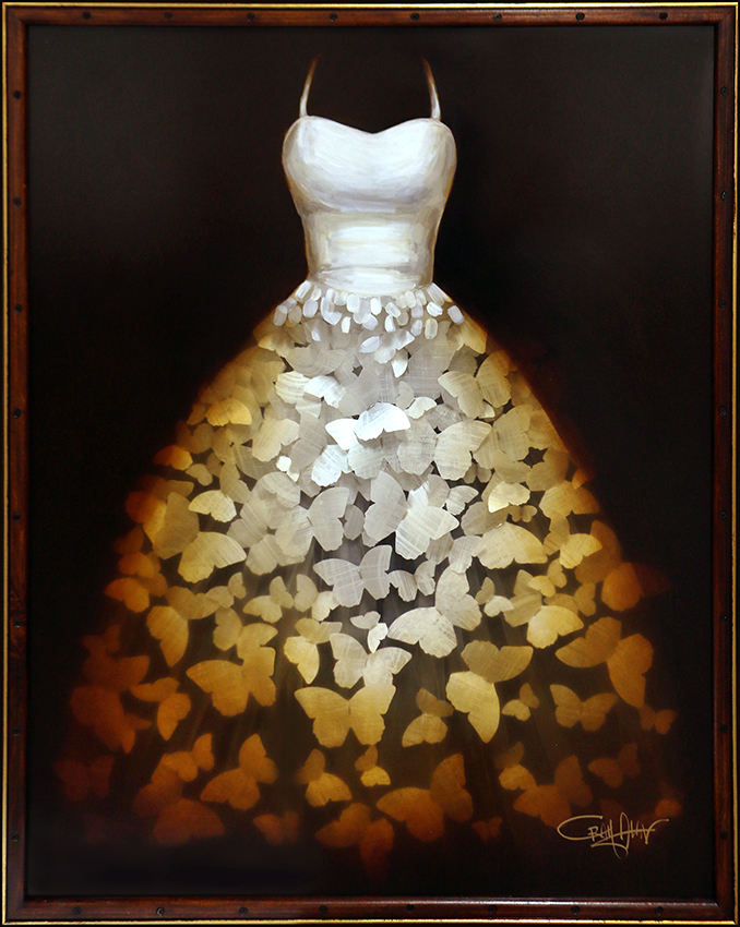 Narrative: Butterfly Dress �Banded Migration�