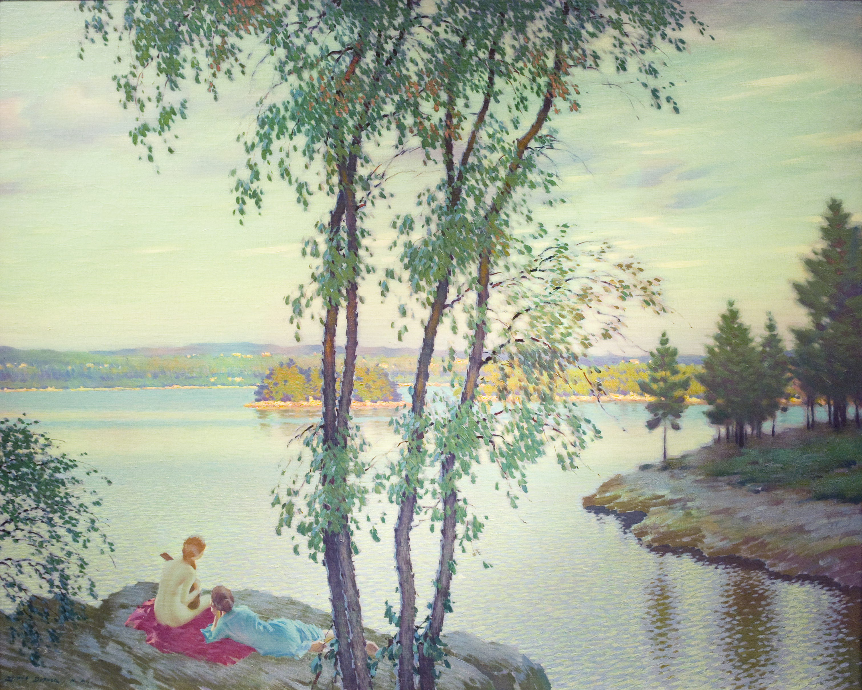 Evening Song, ca. 1915