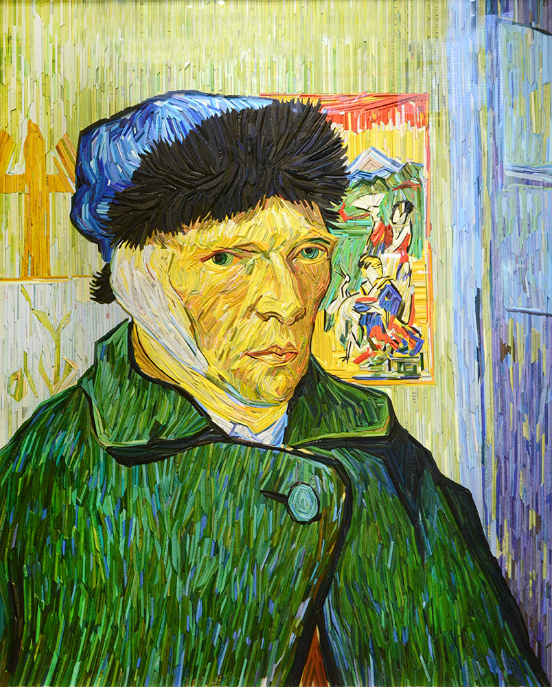 Van Gogh Portrait with Bandaged Ear