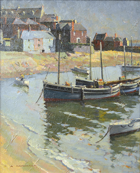 Morning at St. Ives (Fishing Boats)