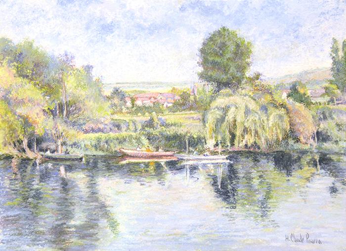 La pêche-au-coup à Gloton (bords de Seine)