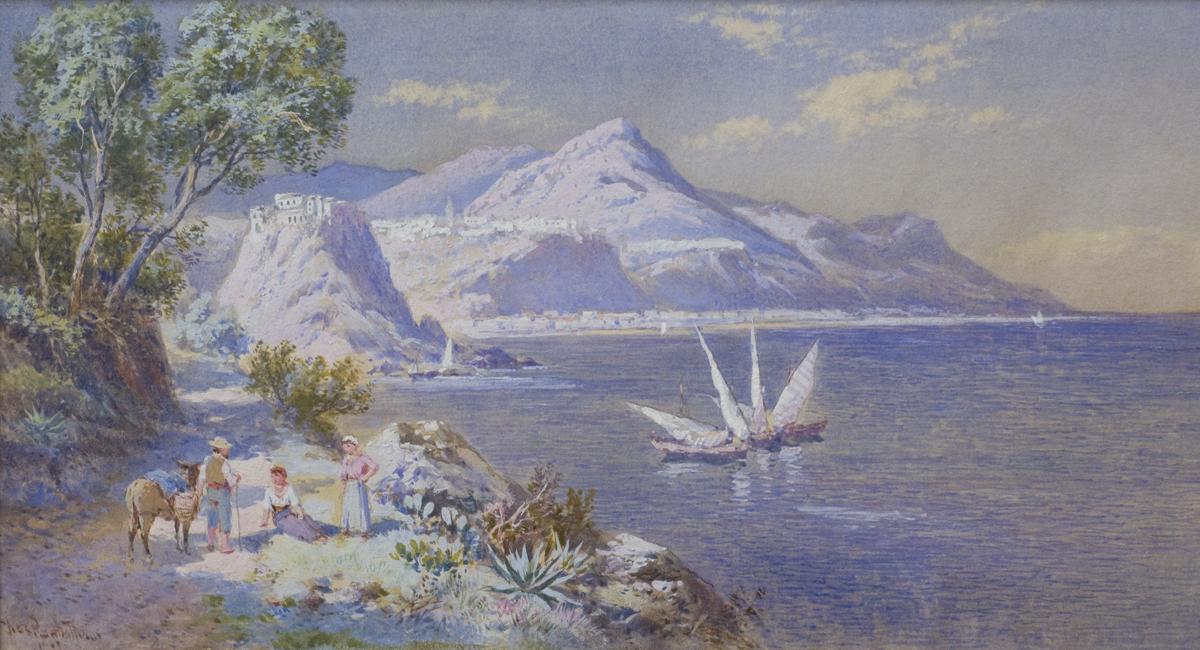 View of La Scilla, Calabria