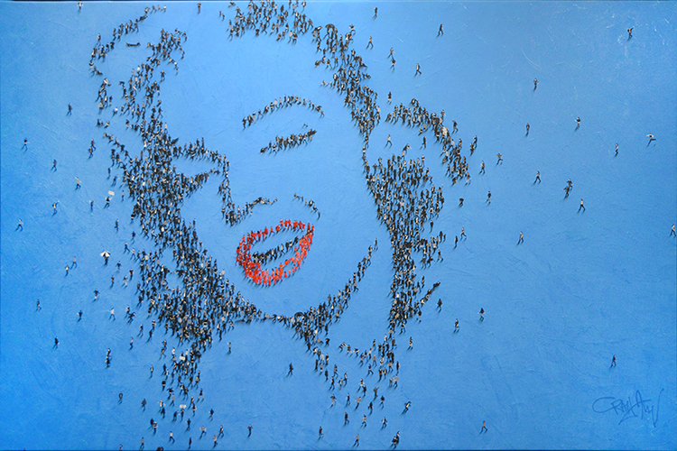 "Populus: Marilyn Monroe, ""In a Big World"""
