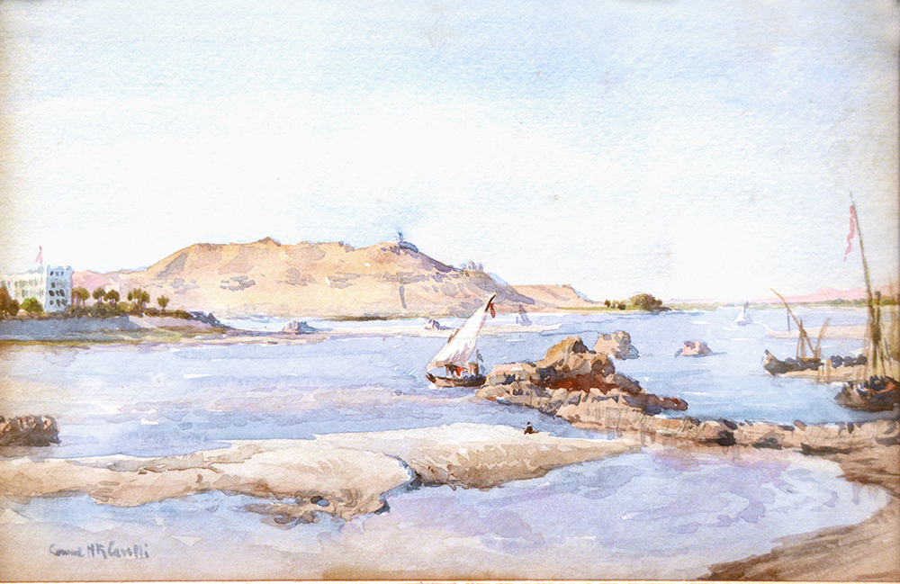 Nile River Scene