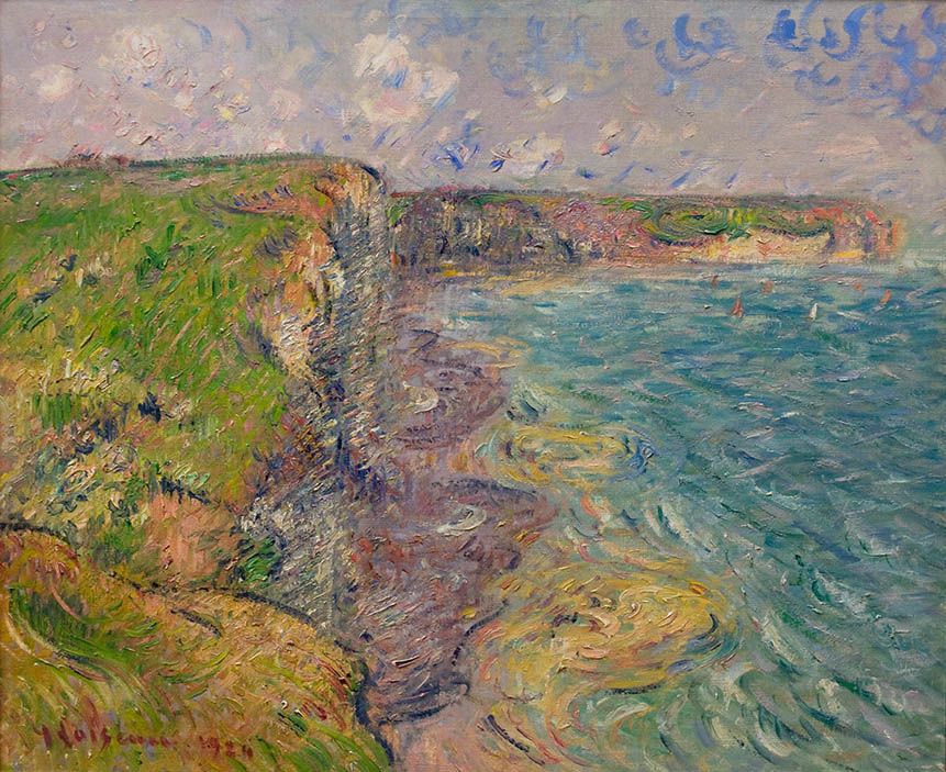 Les falaises a Yport (The Cliffs at Yport), 1924