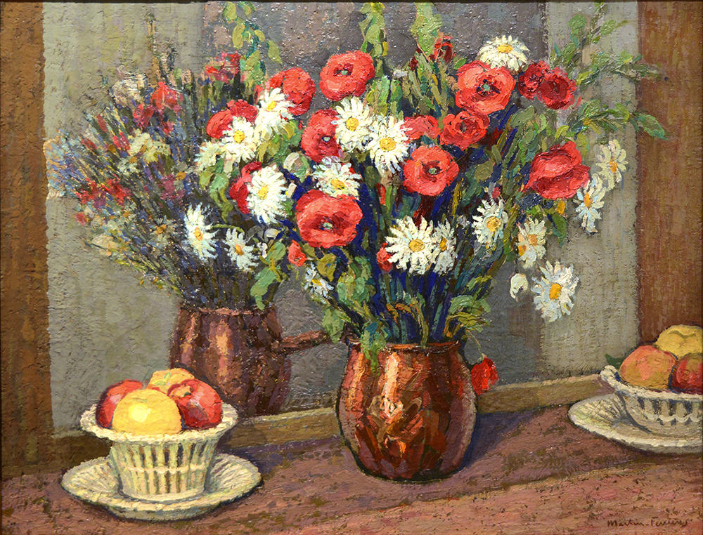 Coquelicots et Marguerites (Poppies and Daisies), 1927