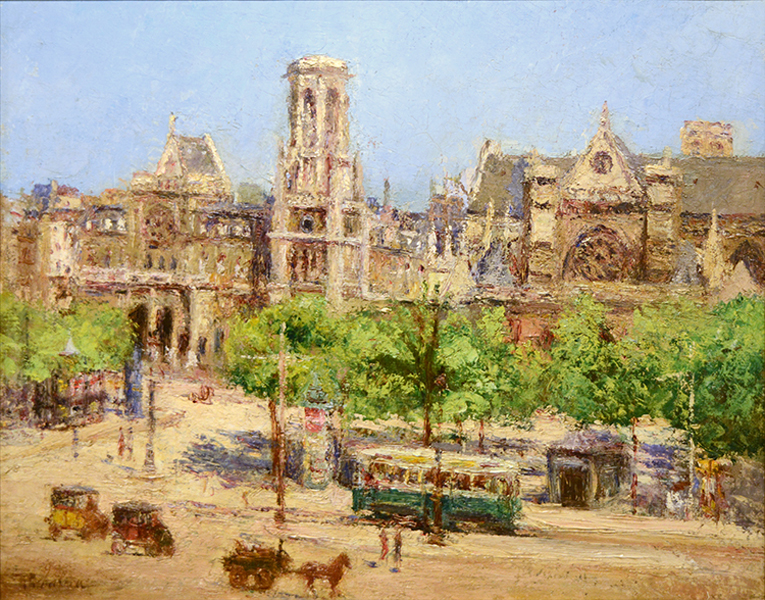 Saint-Germain l'Auxerrois, Paris, ca. 1905/1906