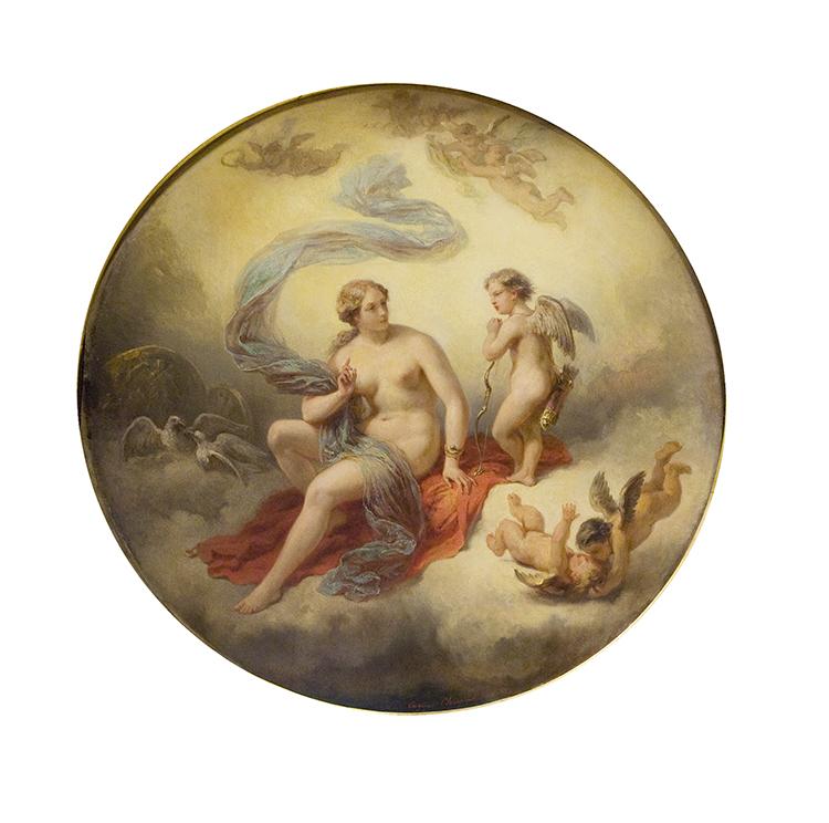 Venus et Amours dans les nuages