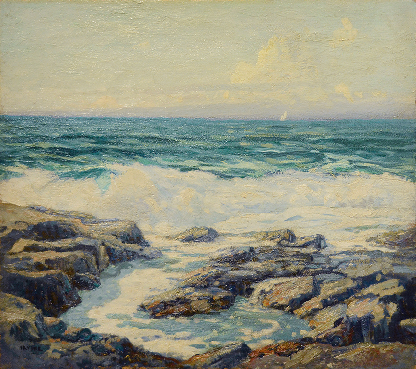 The Spring Waves, Monhegan Island