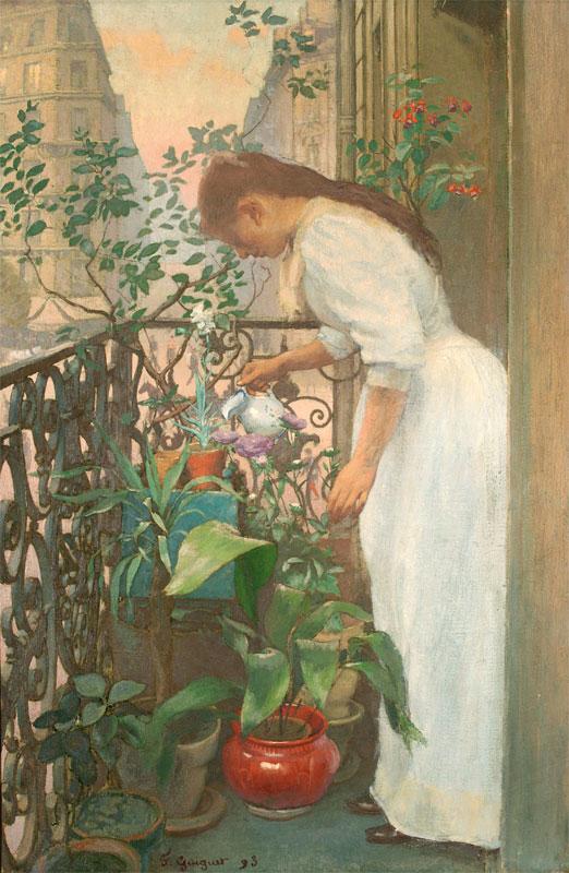 Sur le balcon (On the balcony), 1893