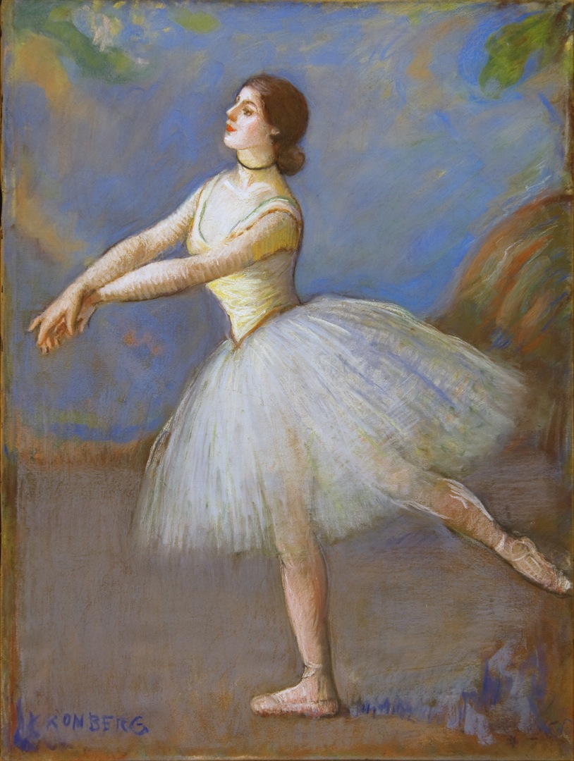 Dancer in White