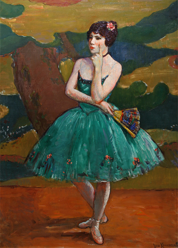 Ballet Girl in Green, 1926