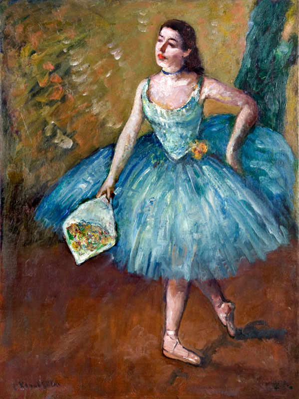 Ballerina in Blue (Curtain Call)