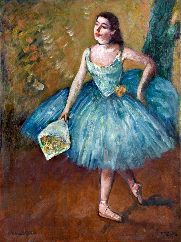 Ballerina in Blue (Curtain Call)