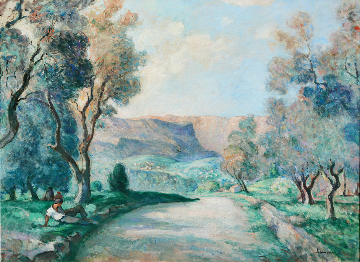 Les Gorges du Loup, route de Grasse