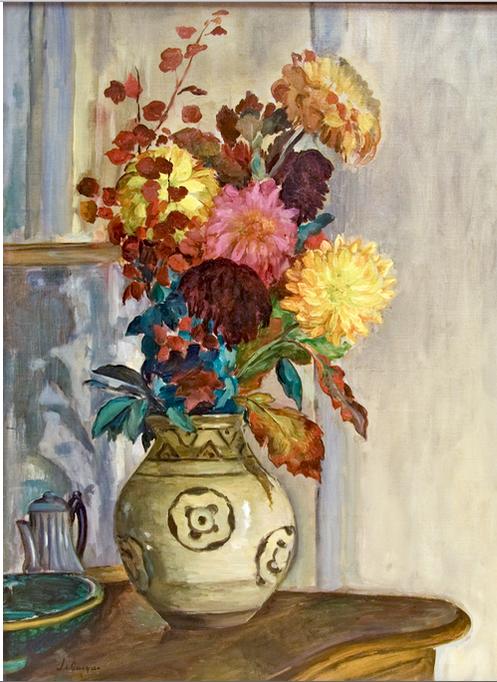 Vase de Chrysantemes
