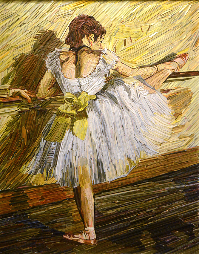 MONUMENT: Degas, Dancer Practicing at the Barre, 2018