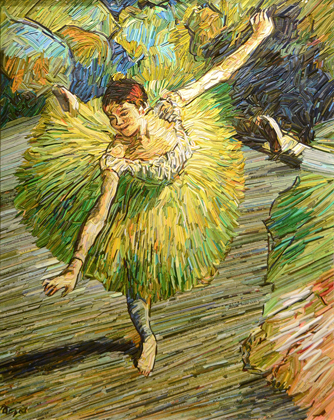 MONUMENT: Degas, Dancer in Green, 2018