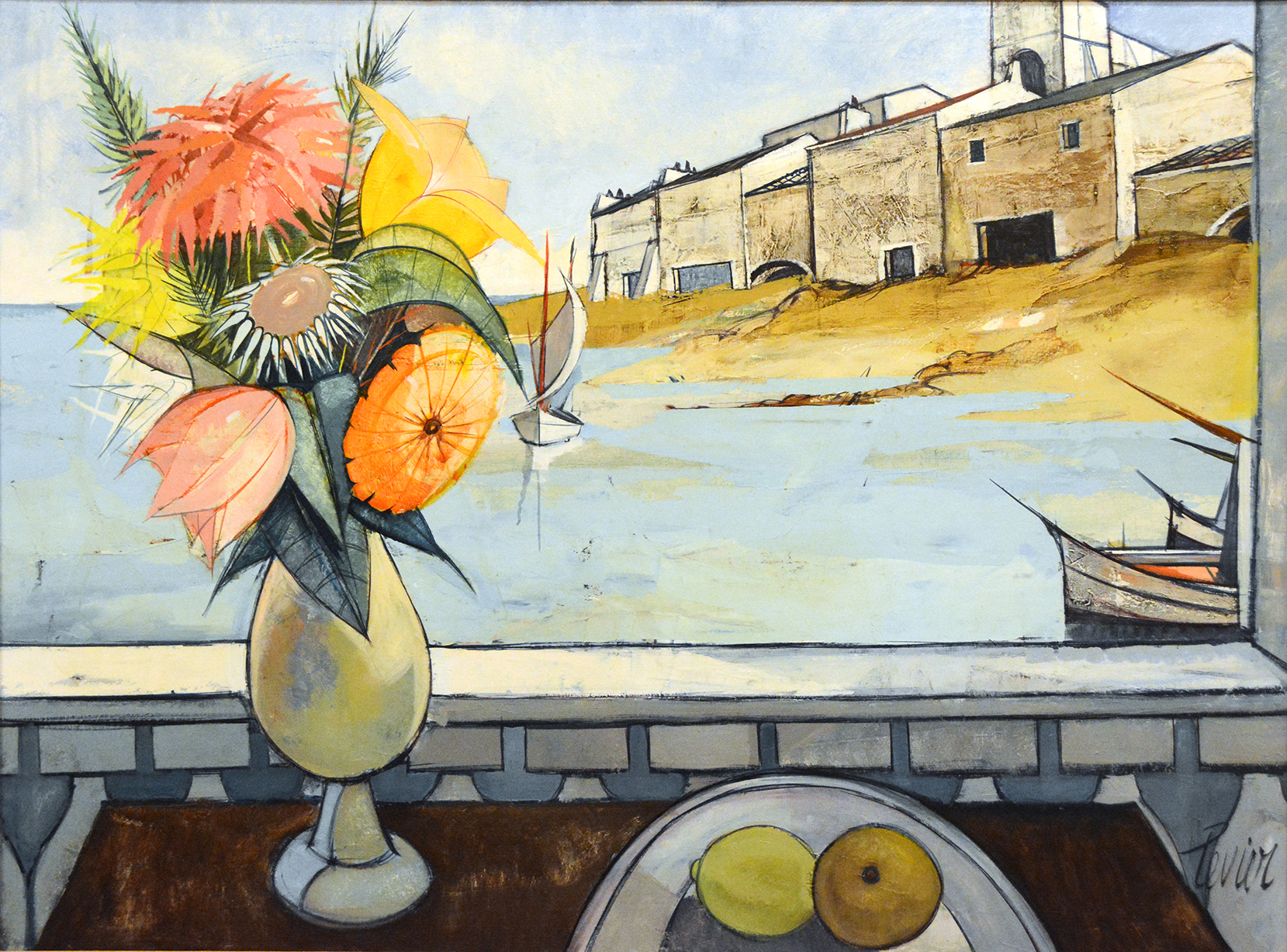 Port de Peche (Still Life & Harbor)