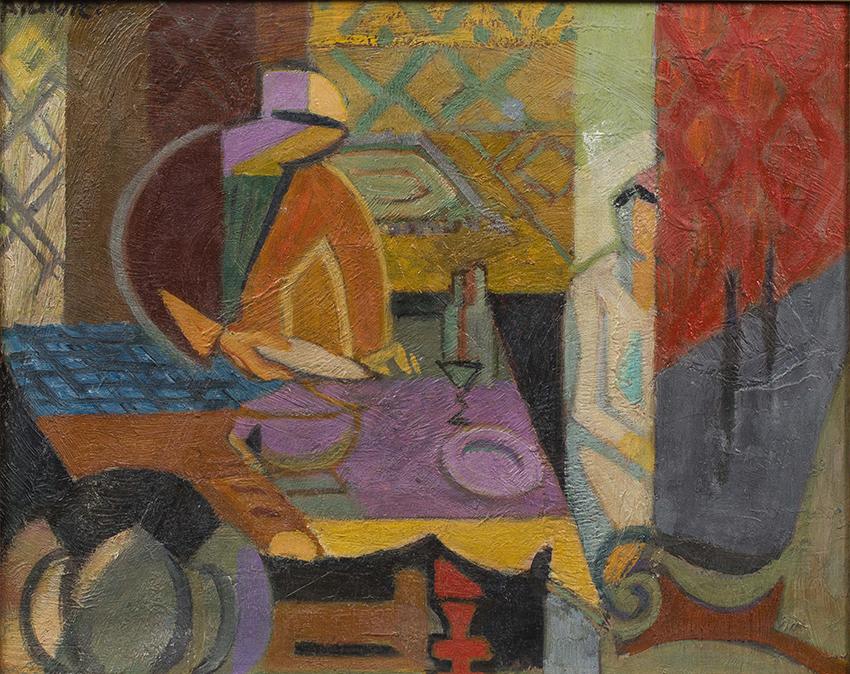 La salle à manger, ca. 1944/45