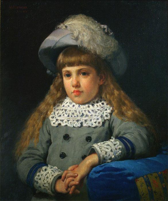 Portrait de jeune fille (Portrait of a Young Girl), 1878