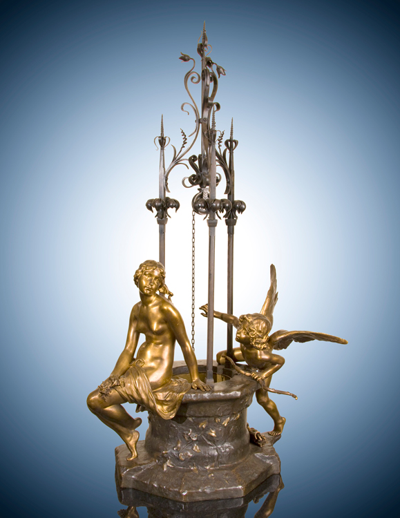 Venus and Cupid at a Well
