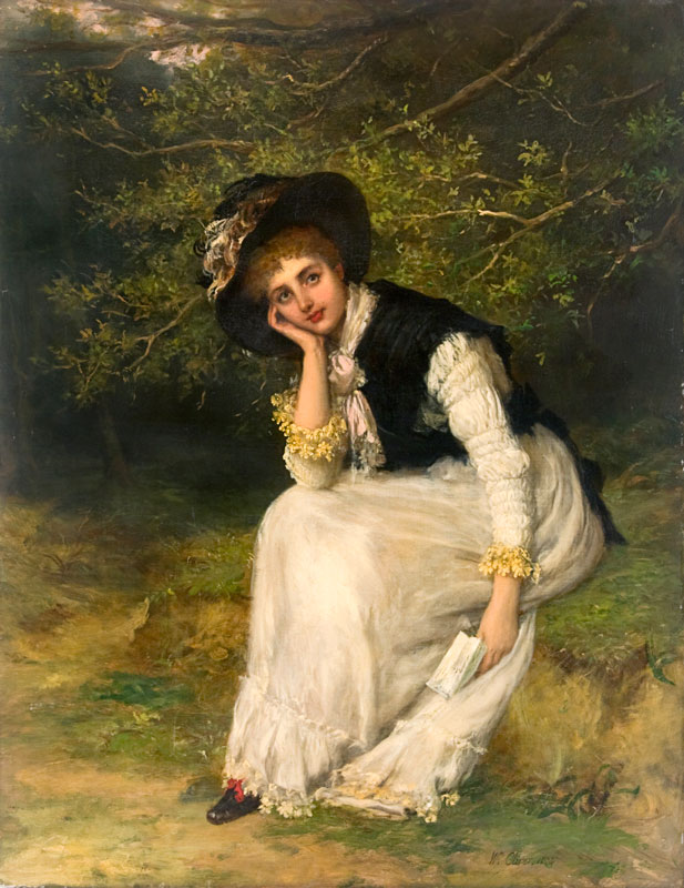 The Love Letter, 1884