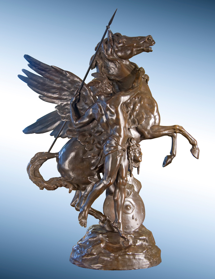 Perseus and Pegasus with the Head of Medusa