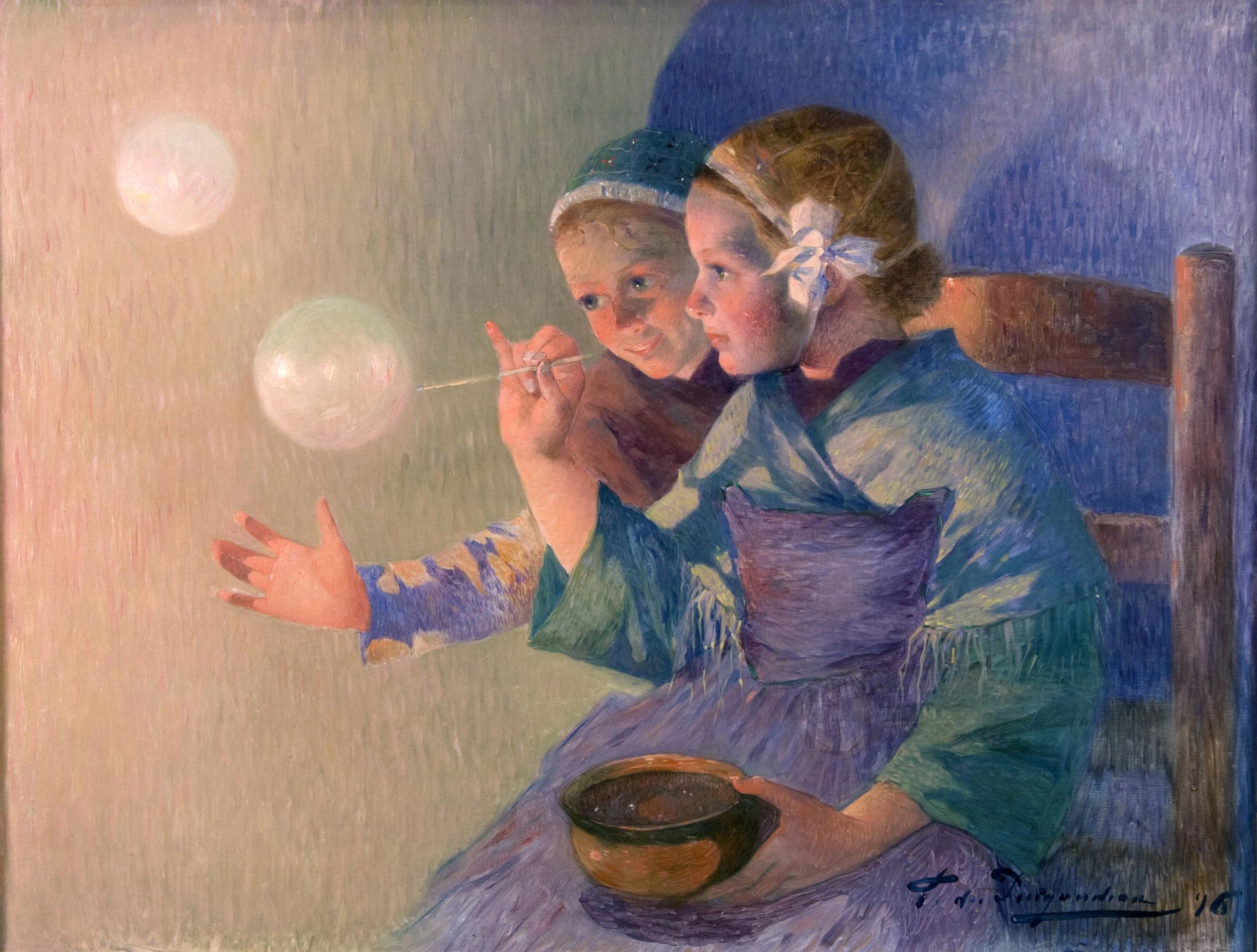 Les Bulles de Savon, 1896