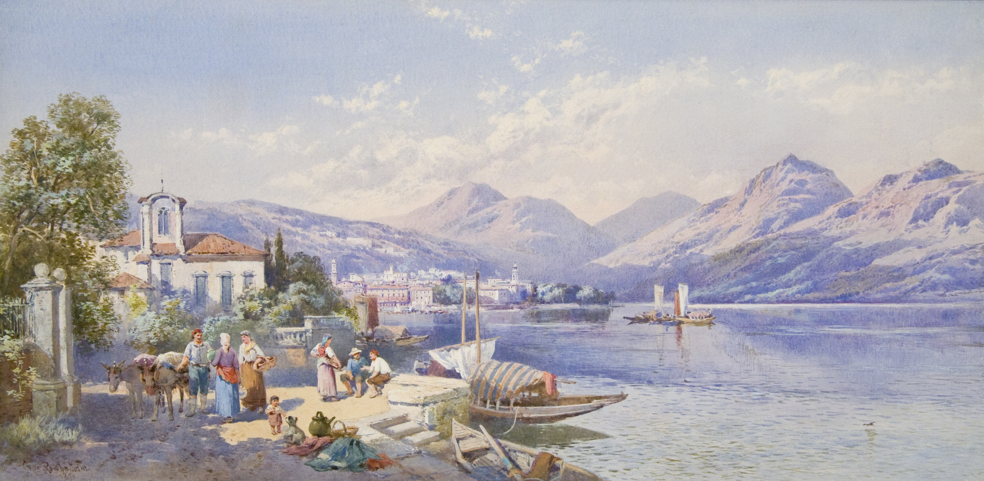 View of Lugano
