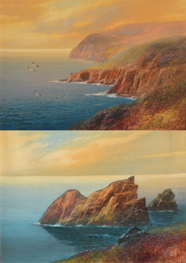 Coastal Sunset (pair)
