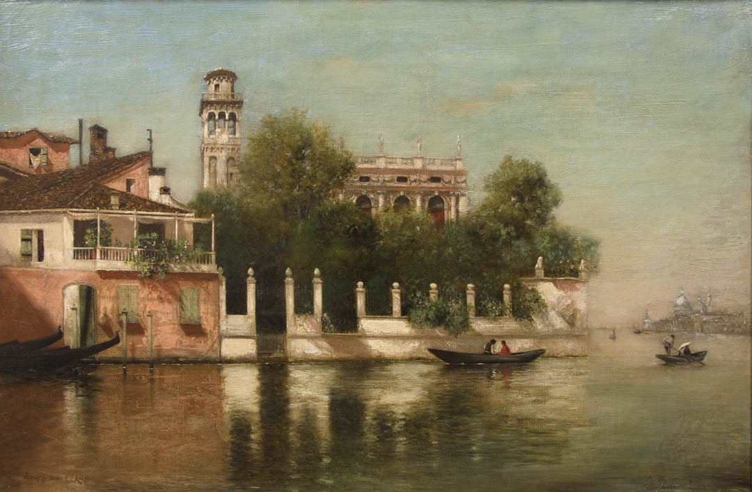 Venice, the French Gardens
