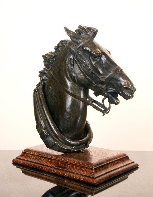 Head of a Runaway Horse