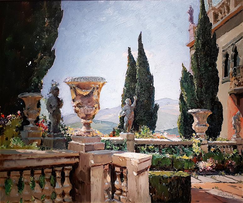 Le Jardin classique à Grasse