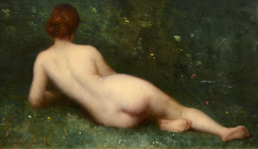 Nu allongé de dos (Reclining Nude)