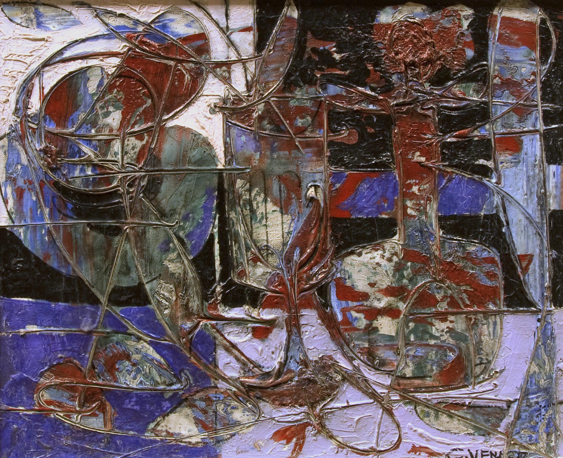 Nature morte au carafon (Still-life in Violet with Decanter)