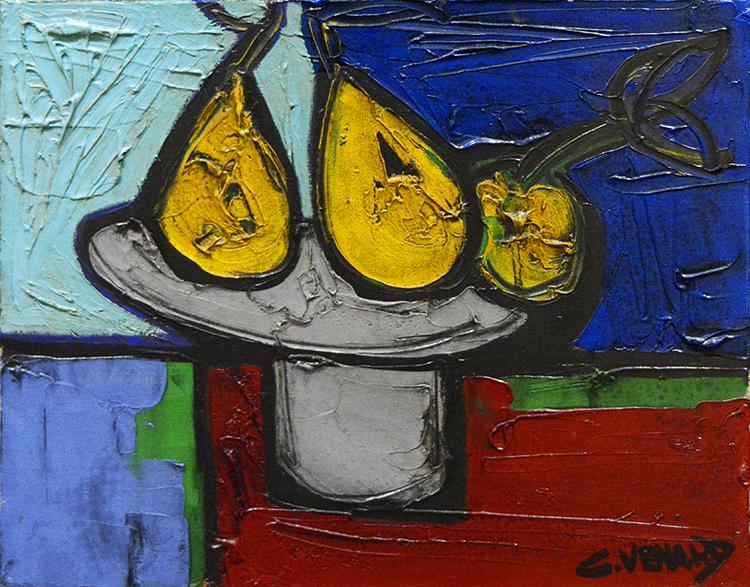 Nature morte: Trois Poires (Still-life: Pears), ca. 1970